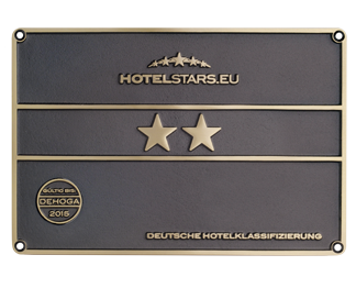 2 stars sign german hotel classification
